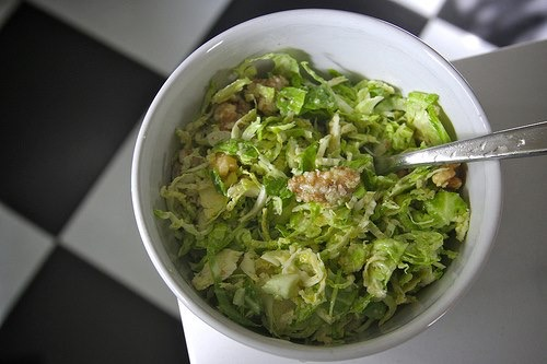Healthy Brussels Sprouts Salad